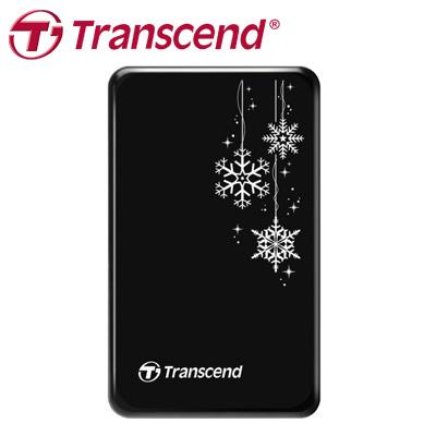 創見 Transcend 外接式硬碟 1T USB3.0 A3 黑色 雪花版 / 個