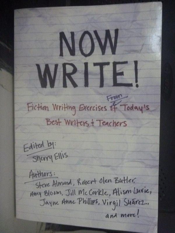 【書寶二手書T2/原文書_HSM】Now Write!: Fiction Writing