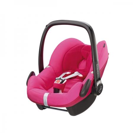 *babygo*Maxi Cosi Pebble提籃汽車安全座椅【Berry Pink】