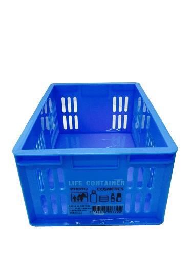 【豪上豪】00330晶美置物籃/置物籃/盒子/收納盒(不挑色)