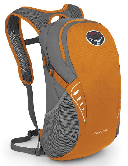 【鄉野情戶外專業】 Osprey |美國|  DAYLITE 輕便小背包/健行背包 休閒背包 旅行背包 攻頂包-峽谷橙/Daylite 【容量13L】