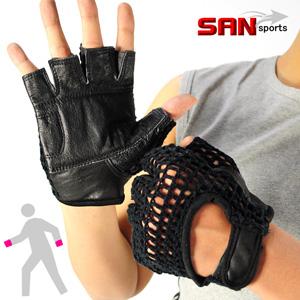 【SAN SPORTS 山司伯特】半截式運動手套(半指手套.露指手套.健身手套.運動手套.運動用品.護具)