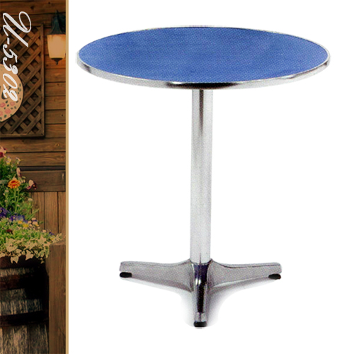 70cm鋁製防火板圓桌(圓茶几.置物桌.洽談桌.餐桌子.休閒桌.庭園桌.傢俱家具傢具特賣會)