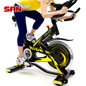 【SAN SPORTS 山司伯特】M4雙頭龍20KG飛輪健身車(5倍強度.20公斤飛輪車.室內腳踏車競速公路車美腿機.推薦哪裡買)MC165-707