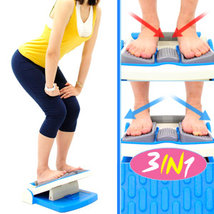台灣製造3in1瑜珈拉筋板(內八外八調整)(多角度易筋板足筋板.平衡板美腿機.多功能健身板.運動健身器材.推薦哪裡買) P260-730TS