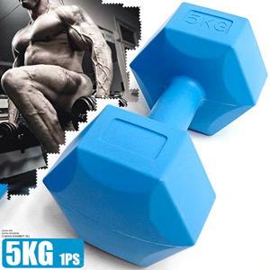 六角5KG啞鈴(單支販售)6角5公斤啞鈴訓練方法.練胸肌舉重量訓練.運動健身器材.推薦哪裡買C113-33525
