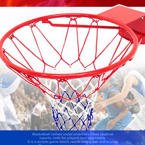 18吋金屬籃球框架(含籃球網)金屬籃框.耐用籃球架子籃網.金屬籃架不含籃球板.打籃球類運動用品.推薦哪裡買)P116-1885