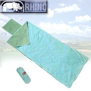 【RHINO】犀牛人造毛毯睡袋.露營用品.戶外用品.登山用品.休閒.露宿袋P102-947