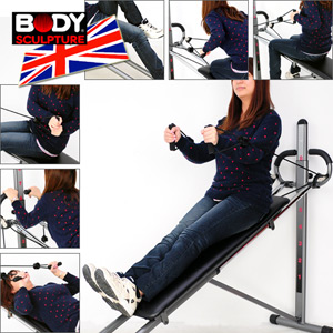 【BODY SCULPTURE】BSB-1700 十項全能舞動健身板(運動器材.重量訓練機.舉重床.仰臥起坐板.便宜)