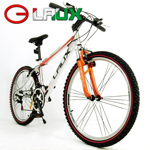 【LAUX 雷克斯】概念 26吋18速鋁合金前避震登山車及自行車.腳踏車.卡打車.單車(95%組裝完成)