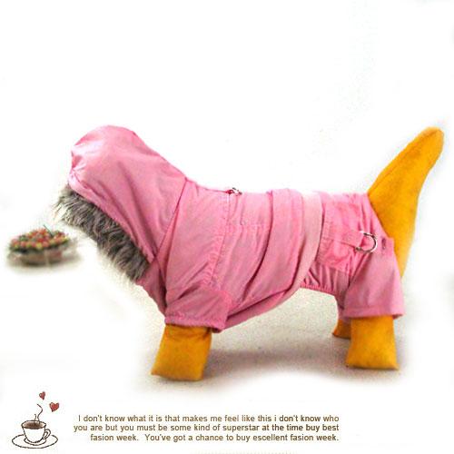 粉色甜蜜四腿寵物服(秋冬款)(寵物衣服.狗狗衣服.寵物服.狗衣.貓衣.寵物用品.便宜)