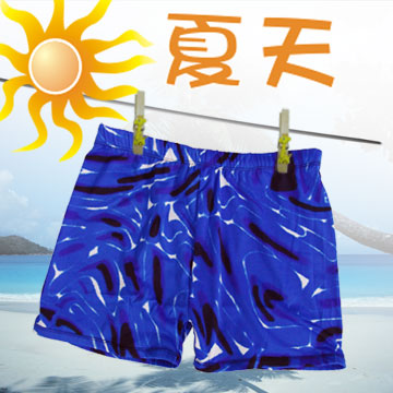 四角男泳褲(五分).泳裝.運動