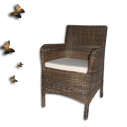 沙發椅  (三彩藤).藤椅.家具