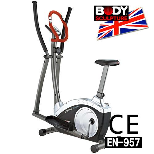 【BODY SCULPTURE】BE-6515D 數位交叉訓練機(安規認證)兩用健身車.手足健身車.推薦