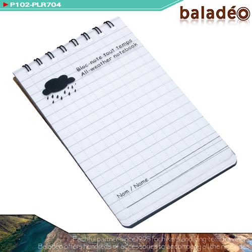 【baladeo】MEMO防水筆記本(便條紙.方格紙.記事本.露營.戶外用品.推薦)