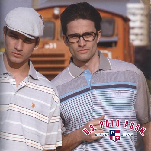 【U.S. POLO ASSN.】POLO男條紋短衫 E034-USP10008A (短袖POLO衫.流行男裝.便宜)