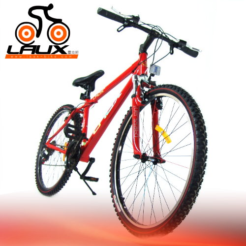 【LAUX 雷克斯】 標致 26吋18速鋁合金前避震登山車及自行車.腳踏車.卡打車.單車(95%組裝完成)