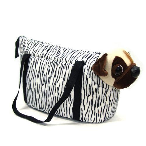 黑白斑紋包(寵物背包.寵物籃.寵物提籃.寵物背袋.寵物包.寵物用品.便宜.推薦)C99-6331