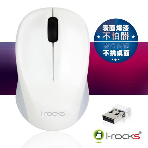 [福利品] i-Rocks Z528 2.4GHz藍光無線滑鼠/不挑桌面