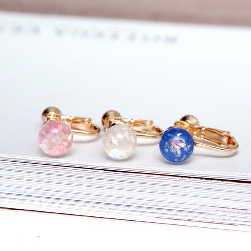 (預購)(特賣)ECO安珂.迷幻星球 夾式耳環(螺旋夾/3色)【2-1689】