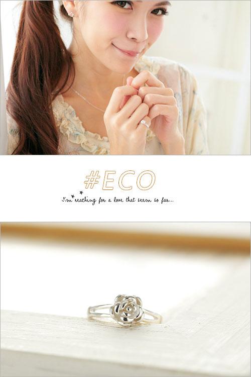 花朵戒指,山茶花戒指,優雅設計,925純銀,純銀戒指,925純銀戒指,純銀飾品,戒指