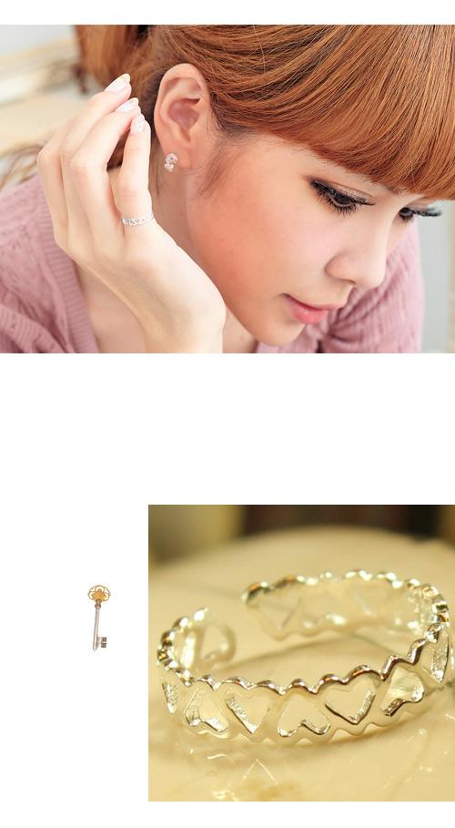 愛心戒指,優雅設計,925純銀,純銀戒指,925純銀戒指,純銀飾品,戒指