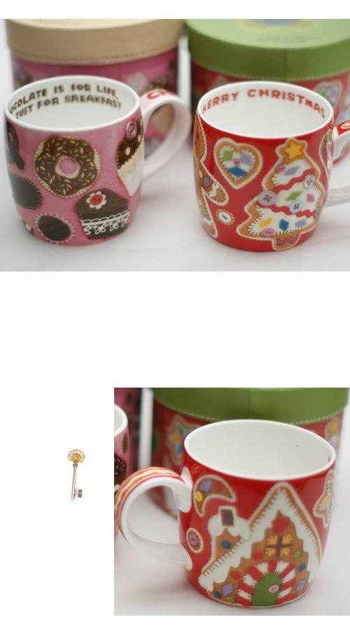鄉村風,雜貨,生活雜貨,馬克杯,陶瓷,聖誕節,普普風
