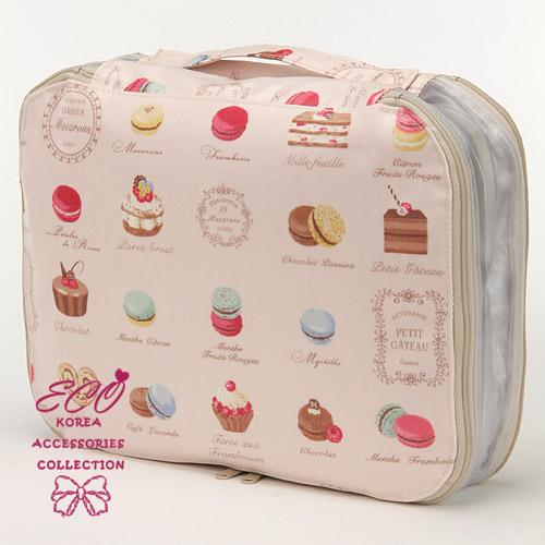馬卡龍,蛋糕,點心,甜點,下午茶,收納包,旅行包,雜貨,生活雜貨