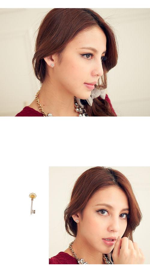 愛心,韓國,韓製,韓貨,水鑽,鑽戒,耳環