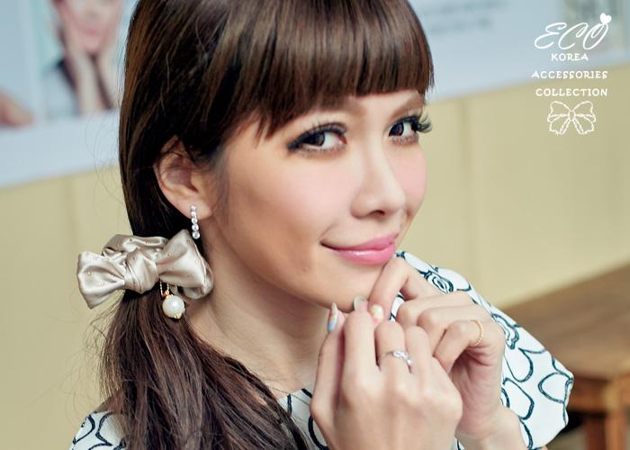 夾式耳環,鋯石耳環,寶石耳環,韓國飾品,耳環