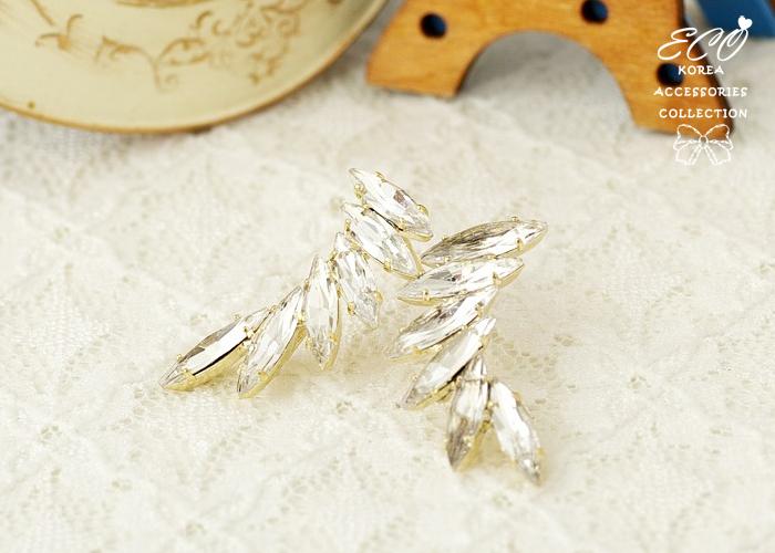 寶石,耳環,翅膀,韓製,韓國,耳環,羽翼,天使