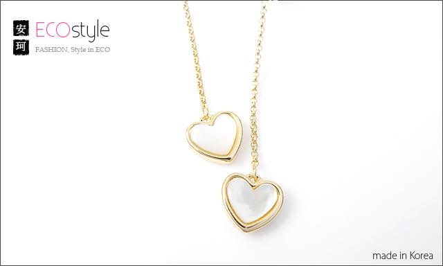 珠貝,愛心,花猴,韓國飾品,耳環