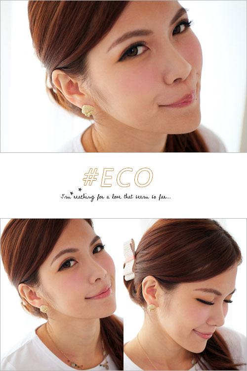 方形耳環,蝴蝶結耳環,雕花耳環,韓國製耳環,韓國飾品,耳環