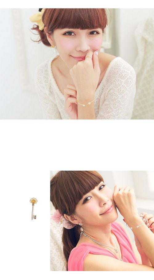 星星手環,月亮手環,綴鑽手環,韓國製手鍊,韓國飾品,手環