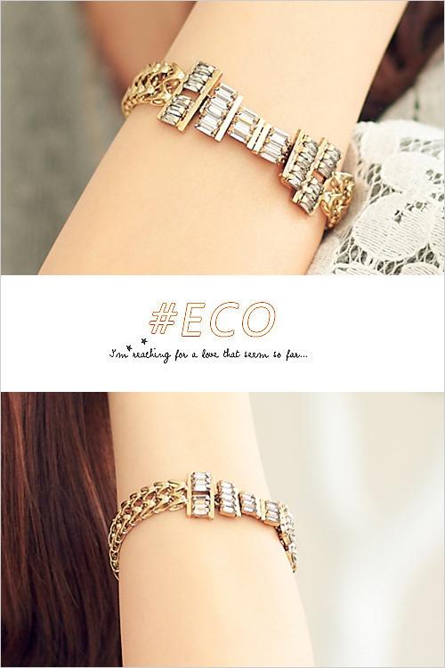 方鑽,水鑽,韓製,韓國,韓貨,部落客,手環