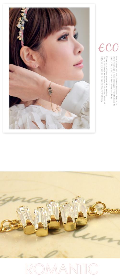 彈性,雙鍊,韓製,韓國,雙色,折疊,手環
