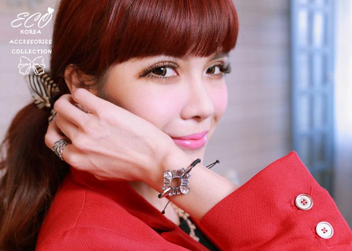水鑽,手鍊,韓國製手鍊,韓國飾品,手環