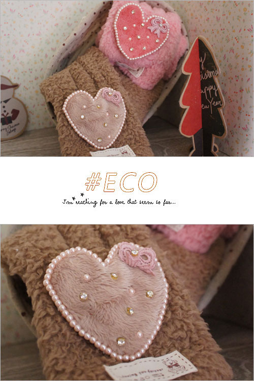 圍巾,愛心,毛毛圍巾,小朋友飾品,韓國飾品,韓國配件