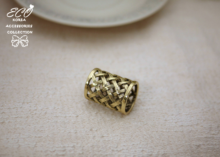 絲巾釦,絲巾環,竹籐,編織,服飾配件