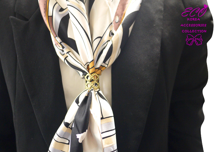 絲巾釦,絲巾環,石紋,復古,服飾配件