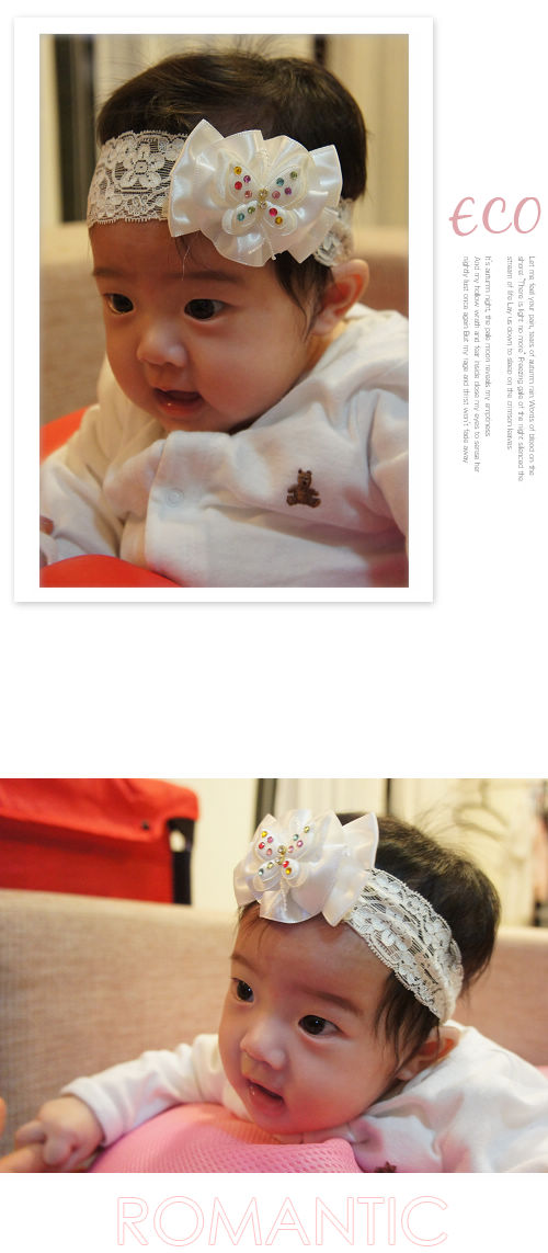 蕾絲,蝴蝶,蝴蝶結,嬰兒髮帶,韓國髮飾,韓國髮圈,韓國飾品