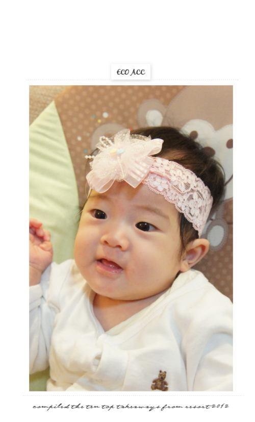 嬰兒髮帶,兒童髮飾,蕾絲,韓製,韓國,韓貨,髮飾