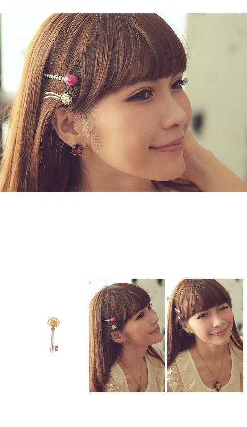 寶石髮飾,寶石髮夾,珍珠,,韓國髮飾,髮圈,韓國飾品