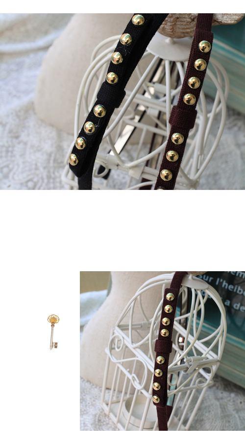 蝴蝶結,髮圈,髮箍,鉚釘,韓國,韓製,韓飾