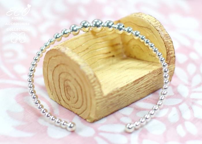 珠珠,925純銀,純銀手鍊,925純銀手鍊,純銀飾品,手鍊