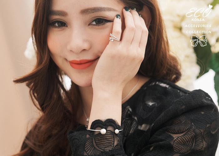 韓劇,沒關係是愛情啊,孔孝真,雙珍珠,925純銀,純銀手環,純銀飾品,手環