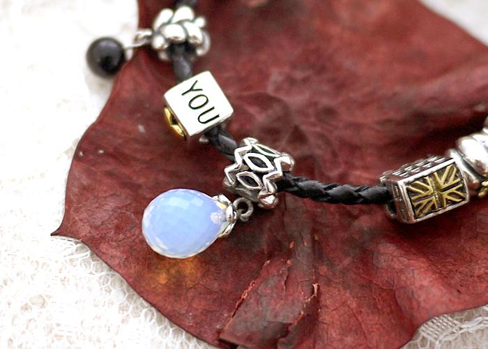 蛋白寶石,潘朵拉,豆豆,圖騰,水鑽銀鍊,鎖骨項鍊,925純銀項鍊,純銀飾品