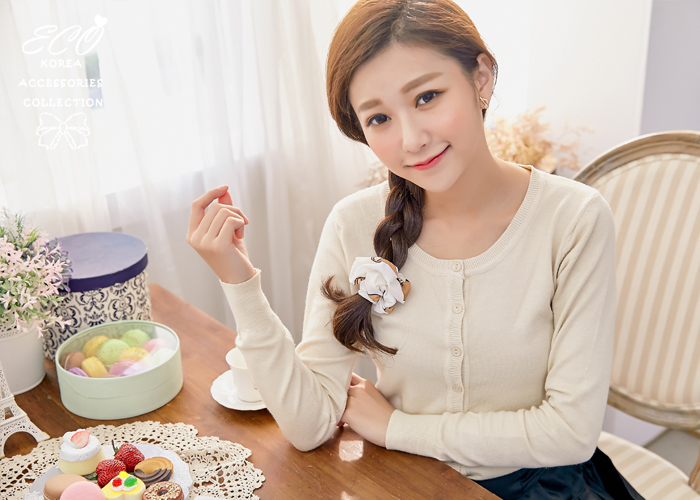 可愛,小熊,熊熊,漫畫,布面,髮束,韓國髮飾,韓國髮圈,韓國飾品,髮圈