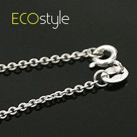(預購)ECO安珂.義大利925純銀項鍊18吋~秀氣細銀圈鍊【sn004】