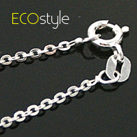 (預購)●ECO安珂●【Esn005】義大利925純銀項鍊18吋~翩翩細銀鍊